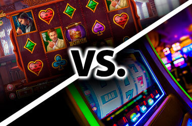 Why Are Online Slots Better Than Slot Machines in Land-Based Casinos?