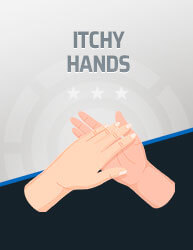 Itchy Hands Icon