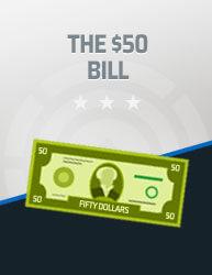 The $50 Bill Icon