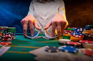 Image of Live Poker Dealer