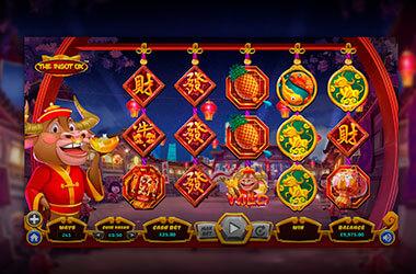 Image of Ingot Ox Slots Game, Dragon Gaming