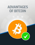 Advantages of Bitcoin Icon