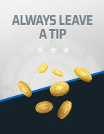 Always Leave a Tip Icon