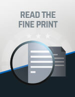 Always Read the Fine Print Icon