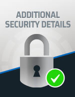 Check for Additional Security Details Icon