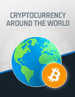 Cryptocurrency Around The World Icon
