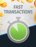 Fast Transactions Bitcoin Icon