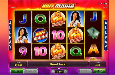 Hoff Mania Slot Game
