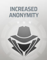 Increased Anonymity Bitcoin Icon