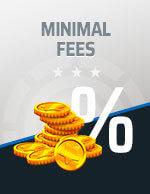 Minimal Fees Bitcoin Icon