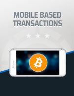 Mobile Based Transactions Bitcoin Icon