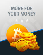 More for Your Money Bitcoin Icon