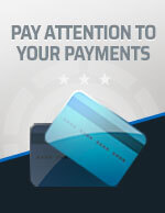 Pay Attention to Your Payments Icon