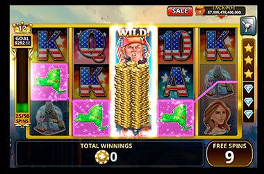 Trump vs Hillary Slot Game