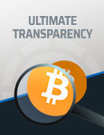 Ultimate Transparency Bitcoin Icon