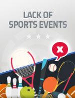 Kurangnya Acara Olahraga di 2020 Ikon